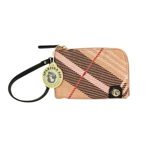 Spartina 449 NWT small linen wallet ID pouch